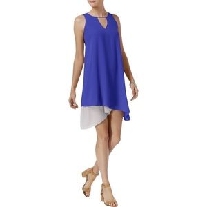 BAR III Womens Sleeveless Pullover Cocktail Dress